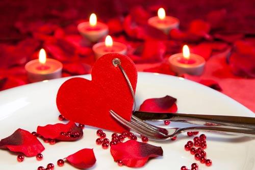 Ambiance romantique week-end romantique