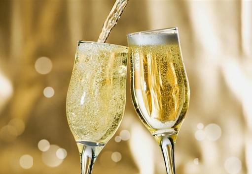 champagne romantique